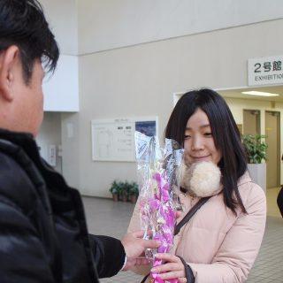 蘭の花プレゼント