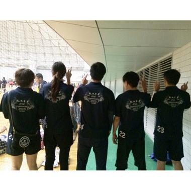 新生ホームサービスバレー部が初めて大会に参加!