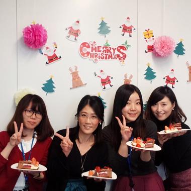 2017年最後の活動を、話題の美味しいケーキとともに。 メリークリスマス!!