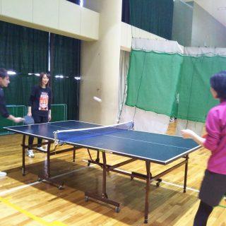 卓球で反射神経の特訓