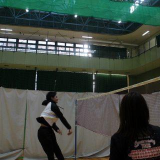 スパイク練習2