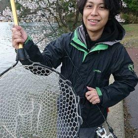 中国地方の評判管理釣り場でルアーフィッシング!