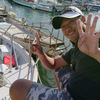 鯛を釣りタイ、食べタイ