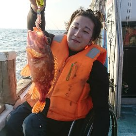 福井県は小浜市にて船釣り