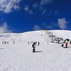 六甲山スノーパーク営業開始