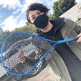ニジマス釣りin岸和田