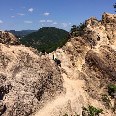 話題の『馬の背』に挑戦!須磨アルプス登山