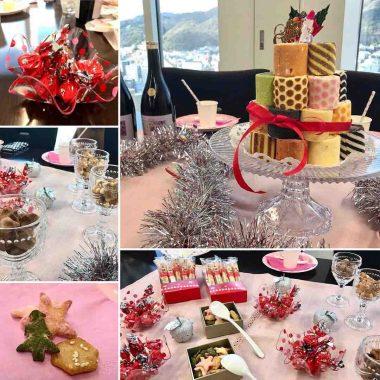 クリスマスパーティ~キュートなタワーロールケーキで女子力アップ!~