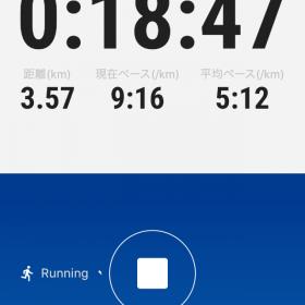 オンラインマラソン初参加